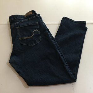 Levis Signature Modern Slim Jeans Sz 18 M 34x32